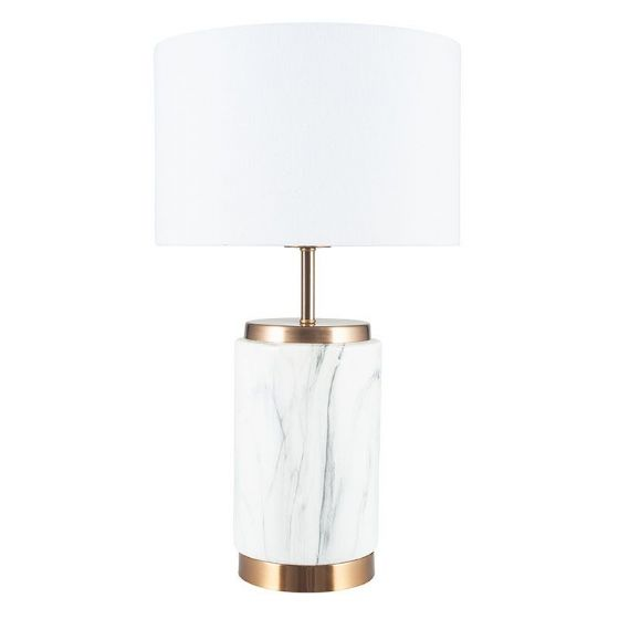 Marble & Gold Table Lamp
